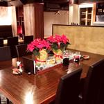 完全個室・肉バル居酒屋 29 ガブリ - 使い勝手良さそうな店内