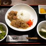 76242868 - ソーキ丼 ¥800