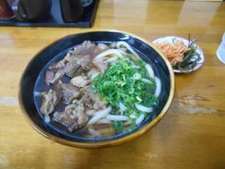めん処 たけや - 肉うどん(中)(^^)v