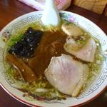 与作ラーメン - 料理写真:カレーラーメン650円