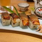 司 - 焼き鯖寿司
