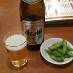 miyamahanten - アルデンテ枝豆付。400円。