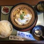 76245507 - 豆腐カツ定食