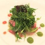 東洋軒 - 本日の鮮魚(淡路の真鯛)のカルパッチョ