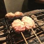 炭火焼鳥 きち蔵 - 阿波尾鶏 皮 焼きやき~