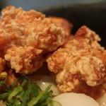 讃岐屋 雅次郎 - 鶏の唐揚げ