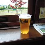 市電カフェ - 生ビール500円