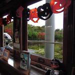 市電カフェ - 京都の車窓から