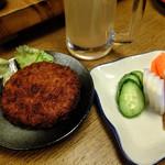 京橋 恵み屋 - メンチカツ