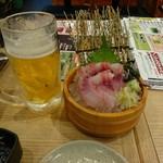 Mekikinoginji - 鮮魚の刺身 内税 646えん