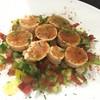 北海道産 生たらこと色々の野菜の細かく切ったサラダ