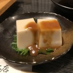 栄寿し総本店 - 胡麻豆腐