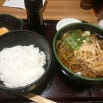 阪急そば若菜 - 朝若菜定食