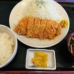 オランジュ - 料理写真:とんかつランチ