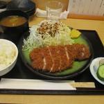 とんかつ 鉄 - 料理写真:上ロース定食