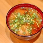 名物トンマキ じゅんご - 豚汁(+150円)