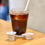 名物トンマキ じゅんご - 食後のアイスコーヒー