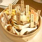 Kitchen kampo's - 極上きのこ8種の盛り合わせ