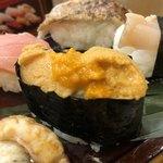 あかめ寿司 - 海栗
