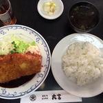 ステーキ・とんかつ 大吉 - 料理写真:ロースカツ定食(1100円)
