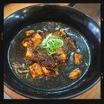 白湯麺屋 - 麻婆坦々麺 黒ごま 800円