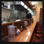 白湯麺屋 - 店内