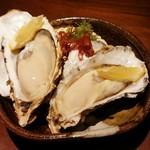 和洋ダイニング ゆきあかり - 【厚岸】生牡蠣〈二個〉950円+税