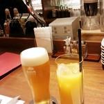 和洋ダイニング ゆきあかり - オレンジジュース 400円+税