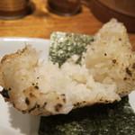 鮎ラーメン - 鮎焼きおにぎりの正体