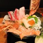 みかん - 豪華な海鮮丼