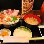みかん - コレがバルメニューの海鮮丼♡