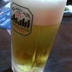 北のしまだ 本店 - 生ビール