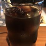 和民 - カレーライス ¥810 に付くアイスコーヒー