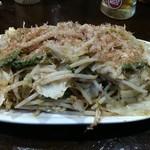 粉ひで - ゴーヤ野菜炒め。ボリュームはあるのにヘルシー。
