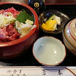 芳春 - 料理写真:ネギトロ丼。