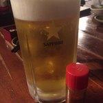 かざぐるま - 生ビール(メガジョッキ)