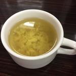 カレー倶楽部 ルウ - セットのスープ