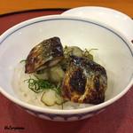 千松しま - 秋刀魚の飯蒸し