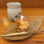 千松しま - 栗きんとんの和菓子と焙じ茶