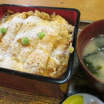 鷹の屋 - 料理写真:上カツ丼