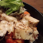 サンリンシャ - ケーク・サレの辛口トマトチーズ焼き お好みのケーク・サレを2品お選び下さい。