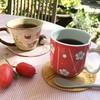 Tガーデン - ドリンク写真:一杯一杯その場で豆を挽き入れる本格的なコーヒー。様々な国のコーヒーが月替わりでお楽しみ頂けます。個性的なカップも特徴です。¥450~