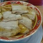 らーめん秋田 ひない軒 - チャーシュー麺&ライス。旨すぎましたo(^o^)o