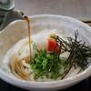 川福 - 料理写真:生醤油うどん