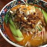 福燕 - 料理写真:綺麗な坦々麺も大盛り