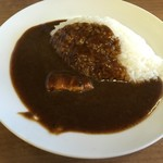インディアン - 料理写真:半カレー
