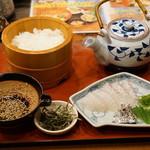 郷土料理 五志喜 - 鯛茶漬け