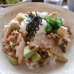 マドカフェ - ネバネバ丼
