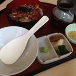Saikyougenya - うなぎひつまぶし梅御膳 1840円 → 1000円(ランパスvol.10提示)