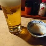 喜多川 - 生ビールとお通し